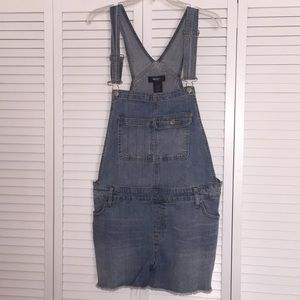 New condition Denim overall shorts size XL
